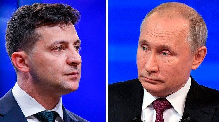 Putin Zelenskini Moskvaya dəvət etdi