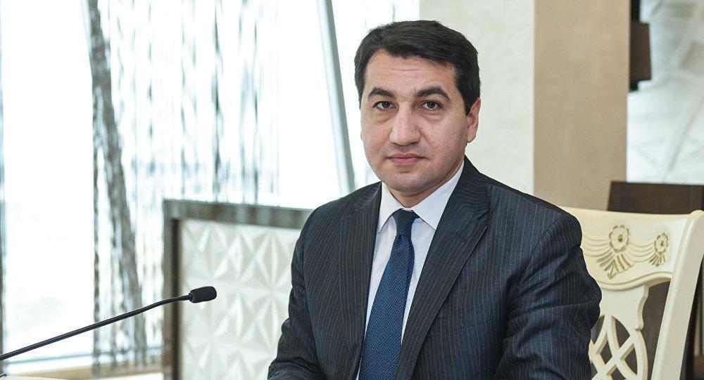 """""""Mina xəritələrinin sayının açıqlanması üçün Ermənistana müraciət etmişik"""" - Hikmət Hacıyev"""
