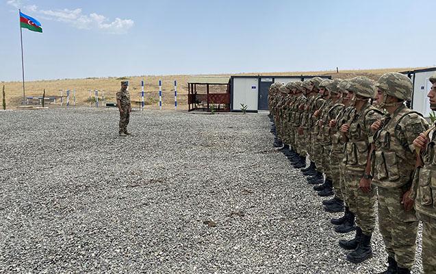 Xocavənddə yeni hərbi hissələr açıldı - Fotolar