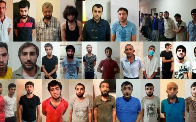 Bakıda polis əməliyyatlar keçirdi: 40 nəfər saxlanıldı