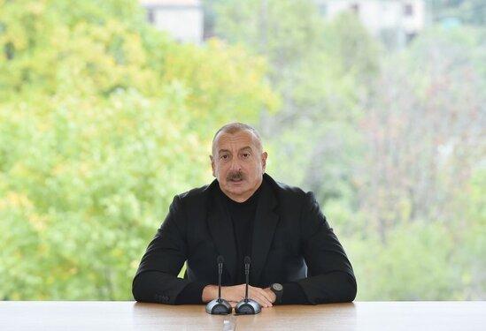 İlham Əliyev: Hadruta ermənilər İrandan XIX əsrdə köçürülüblər